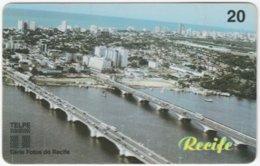 BRASIL H-739 Magnetic Telpe - Traffic, Bridge - Used - Brasilien
