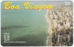 BRASIL H-740 Magnetic Telpe - View, Town - Used - Brasilien