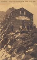 COURMAYEUR-AOSTA-ALBERGO RIFUGIO TORINO AL COLLE DEL GIGANTE-CARTOLINA VIAGGIATA IL 20-8-1910 - Aosta