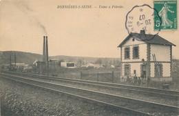 CPA - France - (78) Yvelines - Bonnieres Sur Seine - Usine à Pétrole - Bonnieres Sur Seine