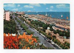 Riccione (Rimini) - Lungomare E Spiaggia - Viaggiata Nel 1962 - (FDC15042) - Rimini