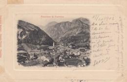 PONTEBBA-UDINE-CARTOLINA VIAGGIATA IL 27-10-1902 - Udine