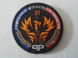 Écusson DOPC 31 - Police