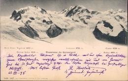 Ansichtskarte Domodossola Monte Rose 1889 - Italia