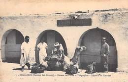 Algérie(wilaya De Béchar) BENI ABBES Bureau Des Postes Et Télégraphes Départ Du Courrier (Extrème Sud Oranais)*PRIX FIXE - Bechar (Colomb Béchar)