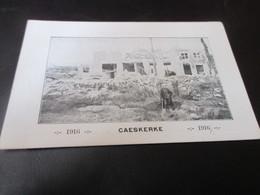Caeskerke 1916 - War 1914-18