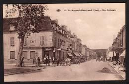 18 ST- AMAND- MONTROND  (CHER)   ANIMEE..AUTOMOBILES..TABAC..CAFE.....C3183 - Saint-Amand-Montrond