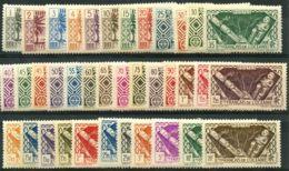 Oceanie (1939) N 84 à 120 * (charniere) - Oceania (1892-1958)