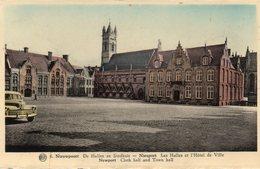 NIEUPORT Les Halles Et L'hôtel De Ville - Belgique