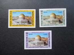 Tunesien Nr. 1013 - 15 Solidarität Mit Dem Palestinesischen Volk Ungezähnt / U Selten Angeboten!! - Tunesien (1956-...)