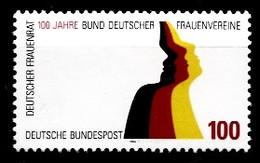 Allemagne 1994  Mi.:nr.1723  100.Jahre Bund Zum...  Neuf Sans Charniere / Mnh / Postfris - Neufs