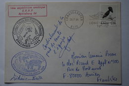 5-040  Spitzberg Renne Rangifer Mergule Pingouin 1984 Longyearbyen  Expedition Française No TAAF - Forschungsprogramme