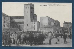 CAHORS - Place Thiers - Marché Aux Boeufs - Cahors