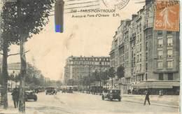 PARIS Montrouge ; Avenue Et Porte D'Orléans. (carte Vendue En L'état). - Distretto: 14