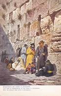 CARTOLINA - POSTCARD - ISRAELE - JERUSALEM - KLAGEMAUER DER JUDEN IN JERUSALEM - Israele