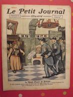 Le Petit Journal Illustré 20 Mars 1921. Mistinguett Invention De La TSF Branly Marconi Meurtre Dato - Bücher, Zeitschriften, Comics