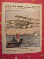 Le Petit Journal Illustré 27 Mars 1921. Hydravion Caproni Mistinguett Invention De La TSF Branly Marconi Meurtre Dato - Bücher, Zeitschriften, Comics