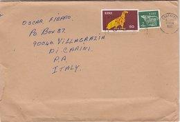IRLANDA  /   ITALIA - Cover _ Lettera - 1949-... Repubblica D'Irlanda
