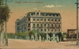 Malaga,Officina De Los Andaluces 1914 - Malaga
