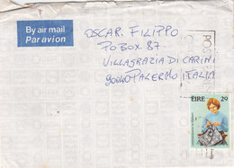 IRLANDA  /   ITALIA - Cover _ Lettera - Storia Postale