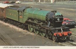 1960s To 1980s BRITISH RAILWAY /  L.N.E.R. A3 CLASS NO 4472 FLYING SCOTSMAN - Eisenbahnen