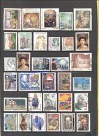 ITALIA - REPUBBLICA - Lotto - Accumulo - Vrac - 71 Francobolli - Commemorativi E Serie Donne Nell'Arte - Valori Misti, U - Francobolli