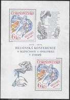 CECOSLOVACCHIA - CONFERENZA SICUREZZA IN EUROPA  - 1976 - FOGLIETTO NUOVO (YVERT BF39 - MICHEL BL33) - Blocchi & Foglietti