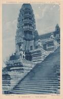 CARTOLINA - POSTCARD - CAMBOGIA - ANGKOR - VAT - EXPOSITION COLONIALE INTERNATIONALE - Cambogia