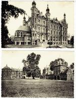 WESTERLO - Kasteel Prins De Merode - Nieuw Kasteel - 2 Kaarten - Uitg. M. Belmans-Peeters - Westerlo