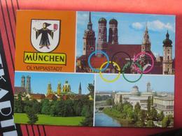 """München - Mehrbildkarte """"München Olympiastadt"""" - Muenchen"""