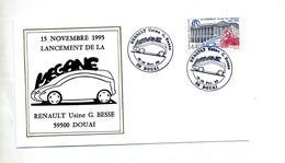 Lettre Cachet Douai Ranault Usine Besse Megane - Postmark Collection (Covers)