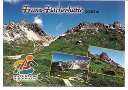 3004s:  AK 5584 Zederhaus,Franz Fischer Hütte, Ungelaufen, Mit Hüttenstempel - Tamsweg