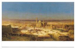 3004q:  Kunst- AK Bernhard Fiedler (1816-1904), Ansicht Von Kairo 1853, Belvedere - Voor 1900