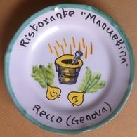 Piatto Buon Ricordo - Recco - Manuelina - Trofie Al Pesto - 11H - Oggetti 'Ricordo Di'