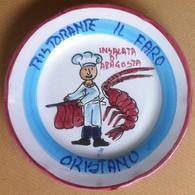 Piatto Buon Ricordo - Oristano - Il Faro - Insalata Di Aragosta - Q90 - Oggetti 'Ricordo Di'