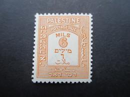 Palästina / Palestine Portomarke Nr. P 15 ** / Postfrisch - Palästina