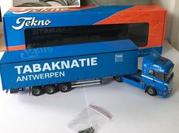 Tekno - 1:50 - Scania - Tabaknatie In Antwerpen - Trucks