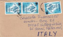 GHANA /  ITALIA -  Cover _ Lettera - Ghana (1957-...)