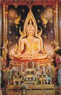 CARTOLINA - POSTCARD - TAILANDIA - STATUEOFLORD BUDDUHA IN WAT PHRD - Tailandia