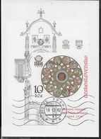 CECOSLOVACCHIA - PRAGA '78 - ESPOSIZIONE FILATELICA INTERNAZIONALE - 1976 - FOGLIETTO USATO (YVERT BF43a - MICHEL BL35B) - Esposizioni Filateliche