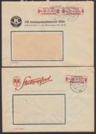 DDR ZKD B 21MI(2) BPP Geprüft, Dresden VEB Kartonagnmaschinenfabrik KAMA, Polygraph Radebeul Steckenpferd Seifen - DDR