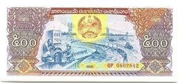Laos - Lao 500 Kip 1988 Pk 31 A UNC - Laos