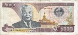 Laos - Lao 5000 Kip 1997 Pk 34 A - Laos