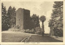 """Barzanò (Lecco) Il Castello Ruderi, Le Chateau Ruines, Affrancatura """"Verificato Per Censura"""" - Lecco"""