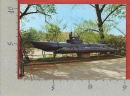 CARTOLINA NV GERMANIA - DEUTSCHES MUSEUM MUNCHEN - Einmann Unterseeboot BIBER 1944 / 45 - 10 X 15 - Sous-marins