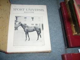 ( Sport Equestre équitation Cheval Yachting Voile ) Le Sport Universel Illustré  1900 23 Numéros - 1801-1900