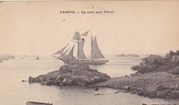 22. PAIMPOL. CPA . EN ROUTE POUR ISLANDE - Paimpol