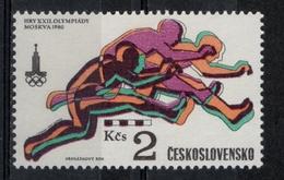Cecoslovacchia Czechoslovakia 1980 - Giochi Olimpici Mosca Olympic Games Moscow Corsa Ostacoli Hurdles  MNH ** - Atletica