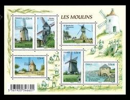 YV 4486 à 4490 / F4486 N** Moulins - Prix = Faciale - France
