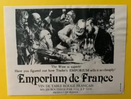 10265 - Emporium De France 2 étiquettes - Etiquettes